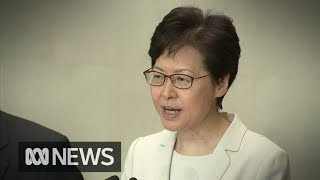 Carrie Lam insists bill backdown is genuine, as Hongkongers vow to continue protests | ABC News