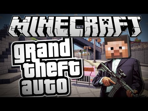 Minecraft GRAND THEFT AUTO GTA Mods Showcase