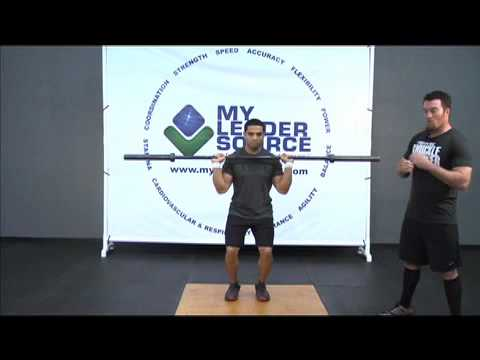 How to do a Push Press - Weightlifting Exercise Image 1