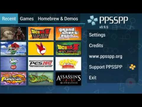 Ppsspp 0.9.5 settings for best gameplay