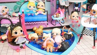 LOL Surprise Dolls new Big Doll Dream House with Unicorn Family