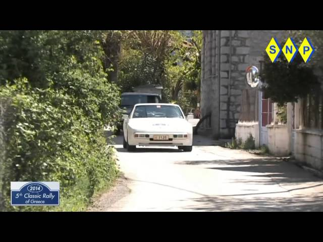 5th Classic rally of greece 2014