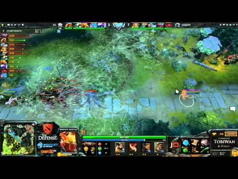 Evil Geniuses vs Team Liquid Game 1 - The Defense 3 - TobiWan