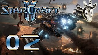 #02 ● Klauen wir ein Artefakt ● StarCraft II - Wings of Liberty