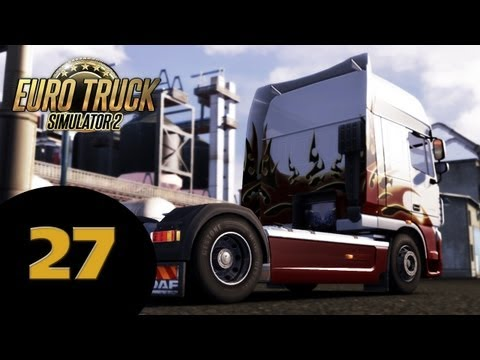 #27 Let's Play Euro Truck Simulator 2 ! NEW MODS !!!!!