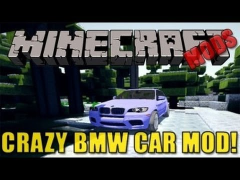 Minecraft Mods - BMW Car Mod (Crazy Car)