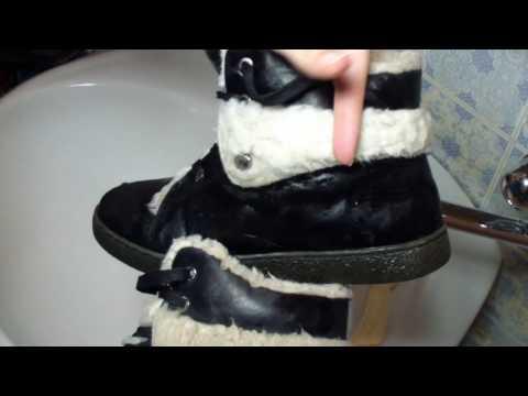 Как почистить мех на ботинках, сапогах в домашних условиях