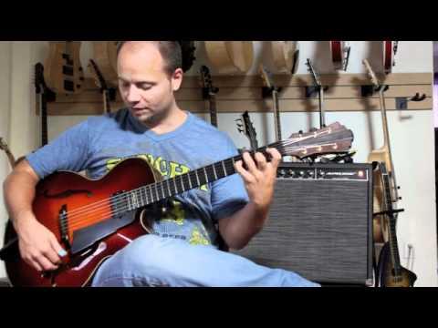 Eastman Pisano vs Raines Mia Archtop Guitar Review Demo Jazz Hollowbody