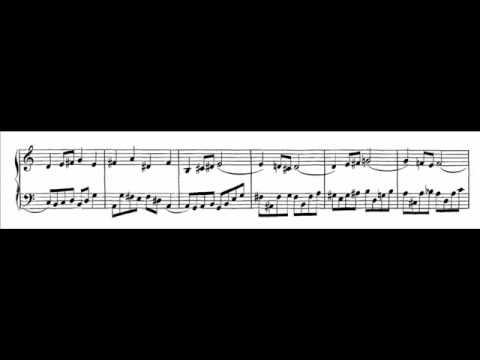 Бах Иоганн Себастьян - Bwv 805 - Duetto Iv In A Minor