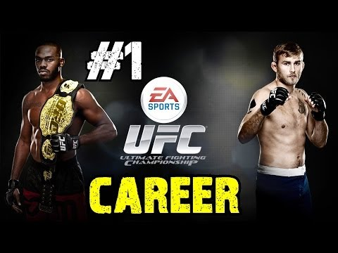 EA Sports UFC Career Mode Walkthrough Ep.1   Getting on to The Ultimate Fighter Show! [PS4 HD]