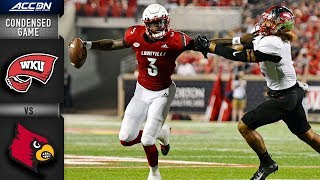 Western Kentucky vs. Louisville Condensed Game | 2018 ACC Football