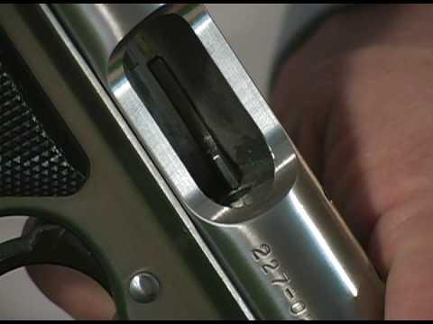 Ruger Mark III Pistol Reassembly