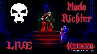 Castlevania Symphony of the Night - Jogando com o Richter!!!