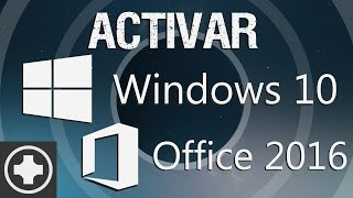 Como Activar Windows 10 y Office 2016 Gratis y Para Siempre, Full, Mega | Mini Tutorial