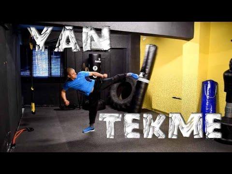 Bruce Lee Tarzi Yan Tekme - Side Kick Nasil Atilir ? | Kick Boks | Mma | Dövüş Sanatları