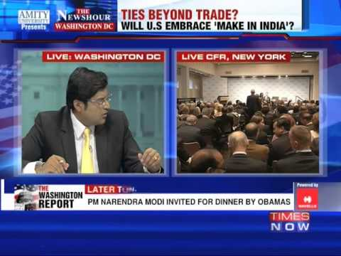 The Newshour Debate from Washington, D.C : Trade before ties? - Part 3 (29th Sept 2014)
