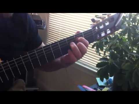 Miguel Espinoza Guitar Lesson - left hand exercises