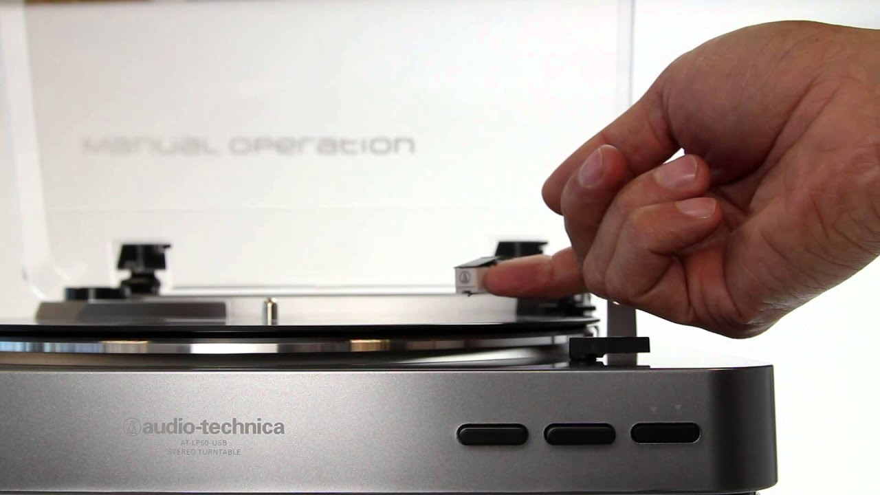 Audio Technica AT LP60USB Fully Automatic Belt Driven Turntable