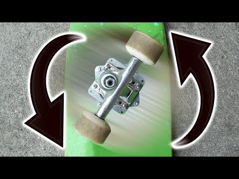 FREE SPINNING SKATEBOARD TRUCKS!!!