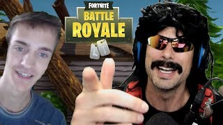 DrDisRespect's Best Duo Victory on Fortnite with Ninja! (DrDisRespect and Ninja Fortnite Gameplay)
