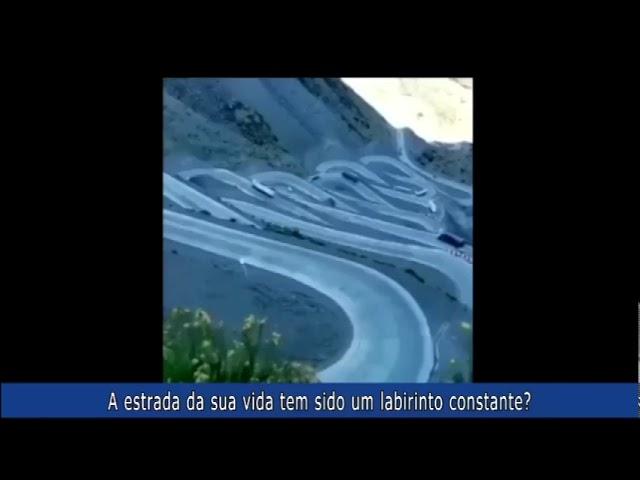 A estrada da sua vida tem sido um labirinto constante?