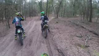 Croom Trail E from campground to sand pit.