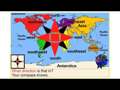 The Cardinal Directions Geography Song