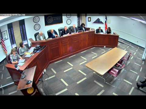Brazos County Commissioners Court 11 10 15