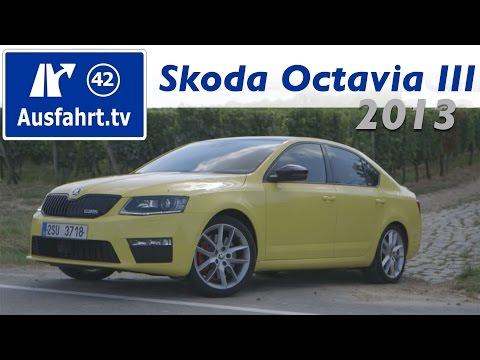 2013 Skoda Octavia III VRS / RS TDI und TSI - Fahrbericht Probefahrt Test