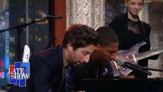 Simon Helberg Vs Jon Batiste Mozart Piano Battle