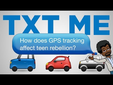 How does GPS tracking affect teenage rebellion? | TXT ME Book