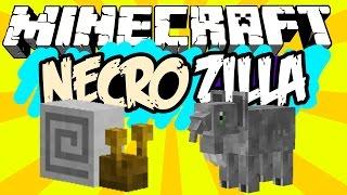 LESMA GIGANTE! - NecroZilla Survival! - Minecraft (FIM?)