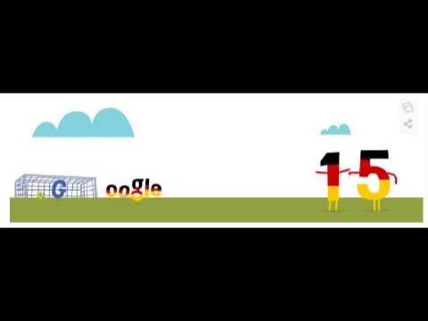 Google Doodle - Miro Klose WM Tor 15
