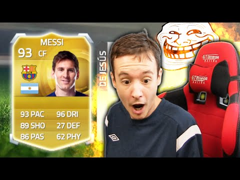 MESSI IN A PACK PRANK!!! - FIFA 15 Ultimate Team Pack Opening