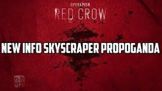 Rainbow Six Siege Operation Red Crow NEW INFORMATION Skyscraper! Japanese Operators