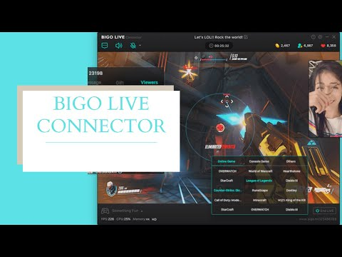 BIGO LIVE PC connector Tutorial