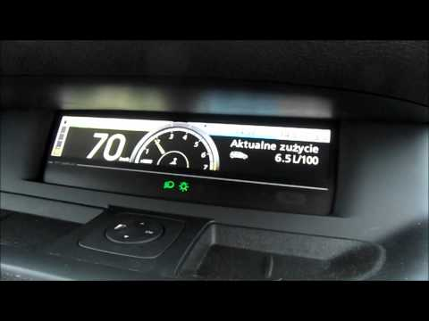 Renault Scenic III 1.4 Tce  Fuel consumption at 70 km / h