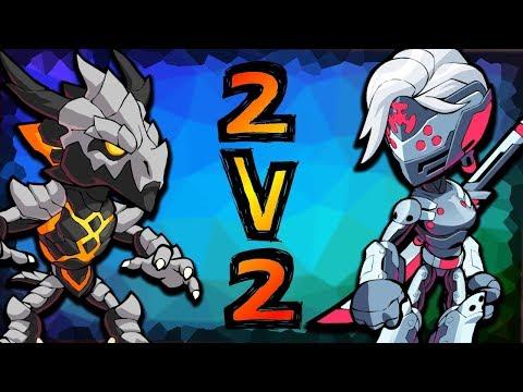 RANKED 2v2s w/ Bob the Builder! • Diamond Brawlhalla Gameplay