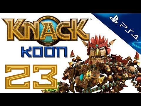 Knack - Прохождение игры на русском - Кооператив [#23] PS4 (Нэк)