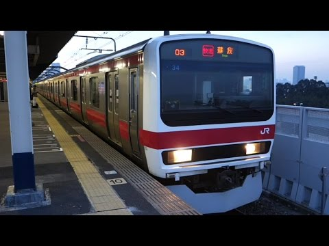 �京����楽��(Tokyo Metro Yurakucho Line) : http://youtu.be/TMT77qB2sb0 JR京��(JR Keiyo Line) : http://youtu.be/Uem85K1w28w �京�海���������(TWR Rinkai Line) : http:...