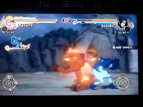 naruto vs sasuke in naruto ultimate ninja storm