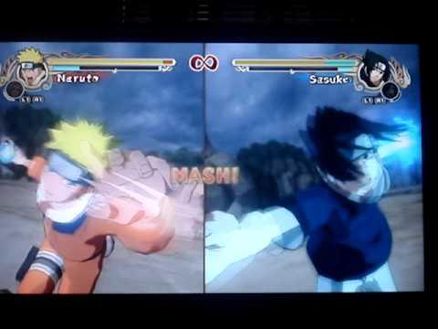 naruto vs sasuke in naruto ultimate ninja storm