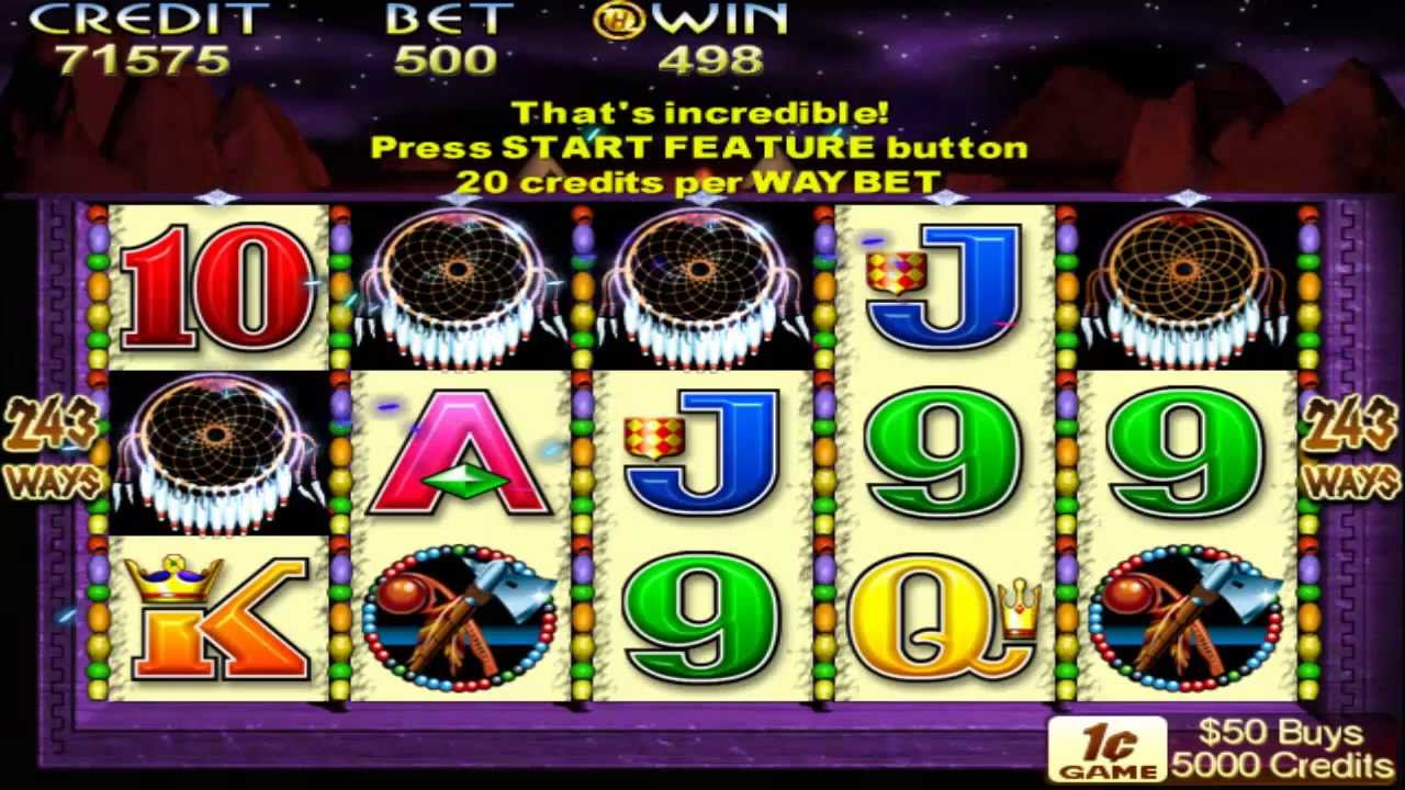 free slot machine indian dreaming
