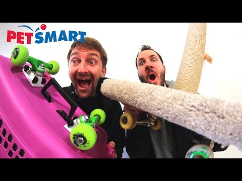 PETSMART SKATE EVERYTHING WARS!