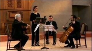 "Isabel Bayrakdarian: ""Chem Krna Khagha"" by Komitas with the Komitas String Quartet (4.2004)"