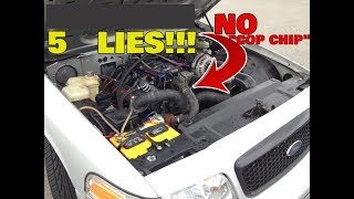 5  LIES You Were Told About The Ford Crown Victoria !!