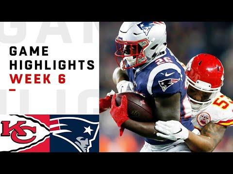 Chiefs vs. Patriots Week 6 Highlights  NFL 2018