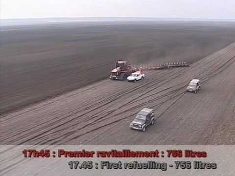 2005 World Ploughing Record - Case and Gregoire Besson
