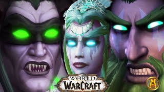 World of Warcraft: Illidan Stormrage's Story - All Cinematics Movie [Up to WoW Legion 7.3]