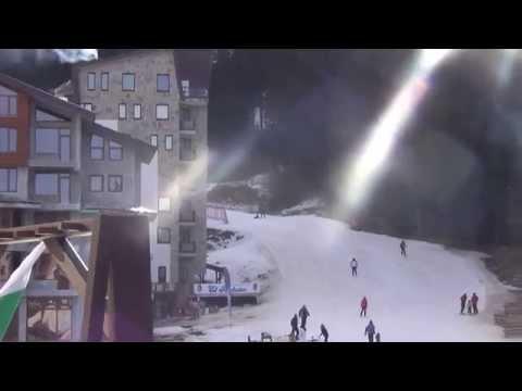 Болгария. Пампорово. Горные лыжи.